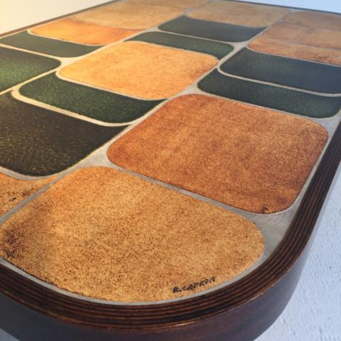 table basse shogun circa 1960 helene breheret benjamin desprez design gallery. Black Bedroom Furniture Sets. Home Design Ideas