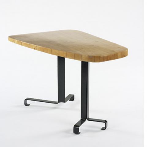 CHARLOTTE PERRIAND LES ARCS TABLE FORME LIBRE