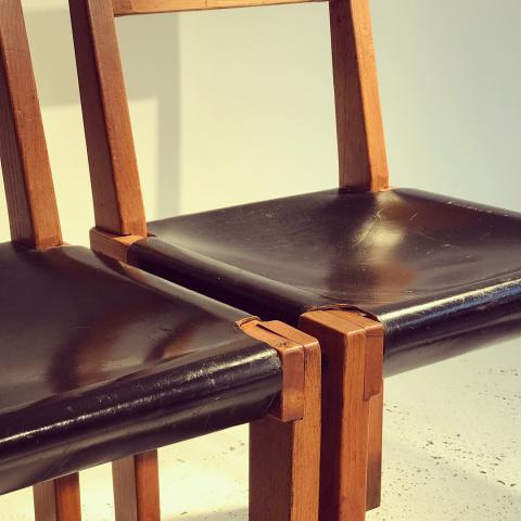 PIERRE CHAPO S24 CHAIRS DESPREZ BREHERET