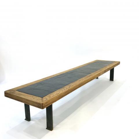table ardoise 180 | HELENE BREHERET / BENJAMIN DESPREZ - design gallery