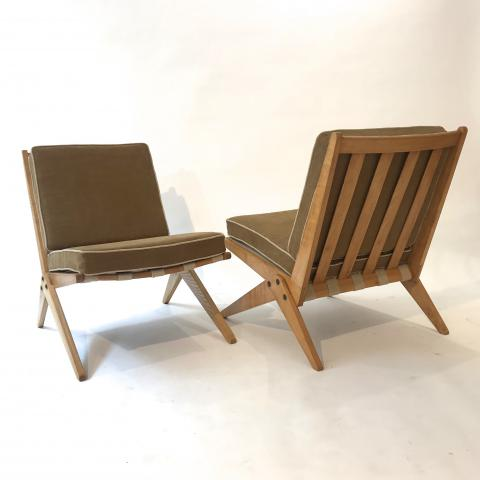 DESPREZ BREHERET PIERRE JEANNERET CHAIRS